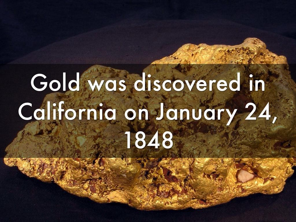 The California Gold Rush by Ashley Garcia