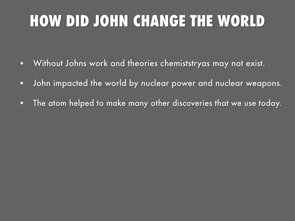 john dalton accomplishments