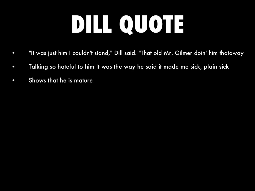 dill harris quotes