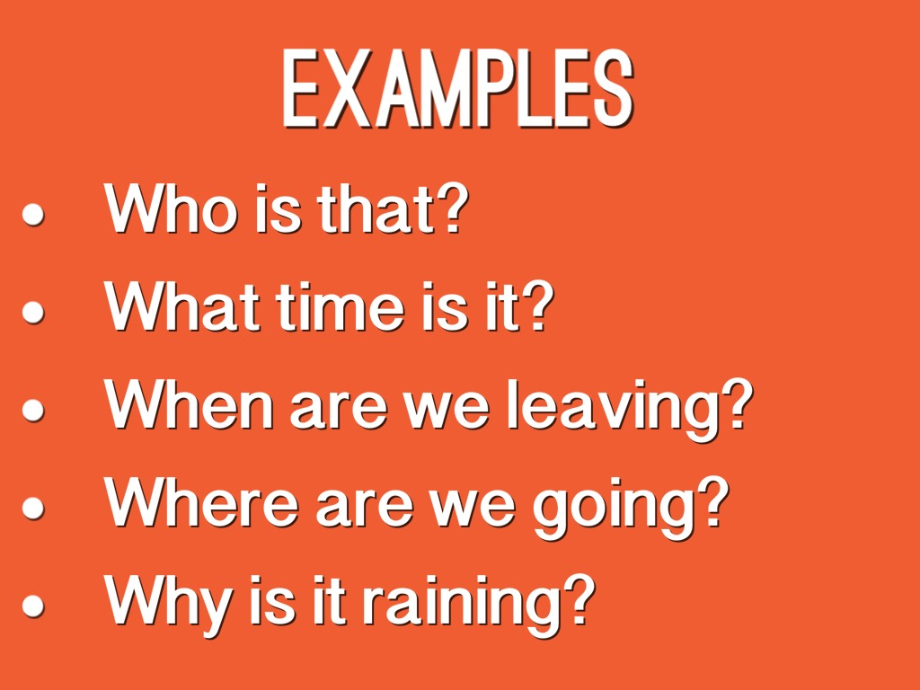5 example of interrogative sentence
