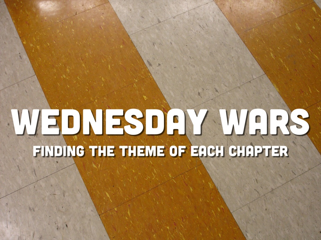 what is the theme of the wednesday wars