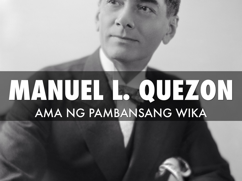 talambuhay ni dating pangulong Manuel l. Quezon 50 år gammal dating 23 år gammal