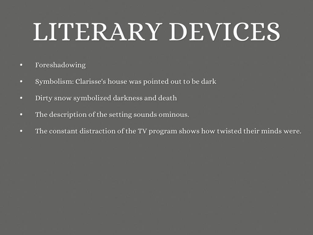thematic development in literature