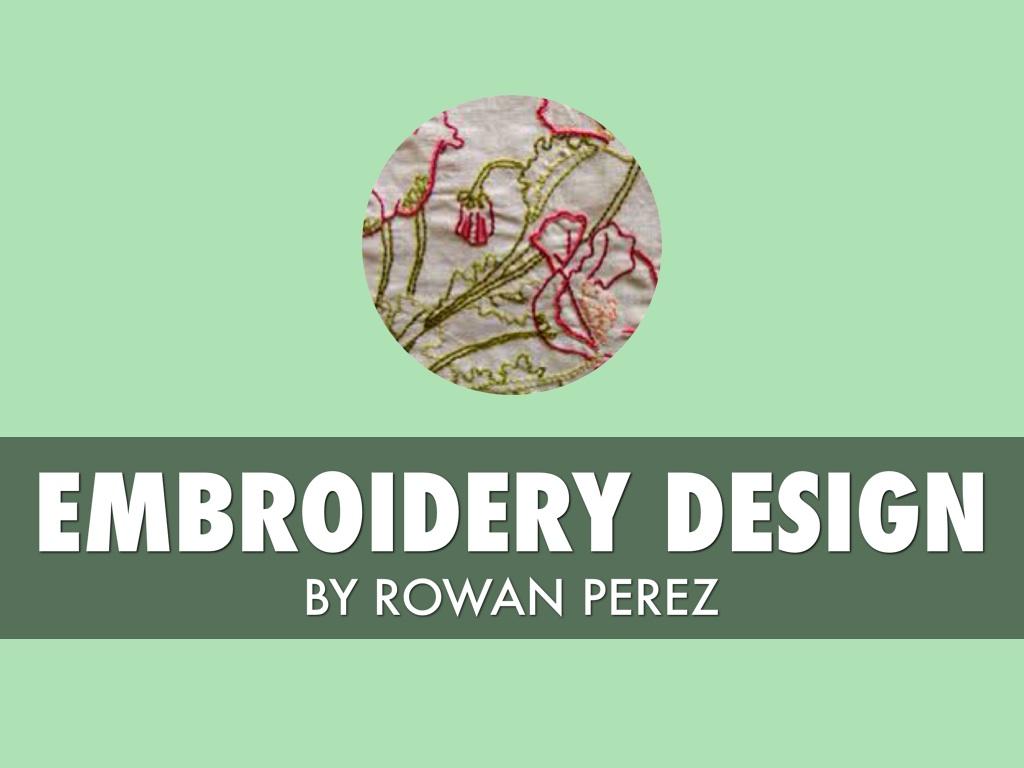 Embroidery Designer