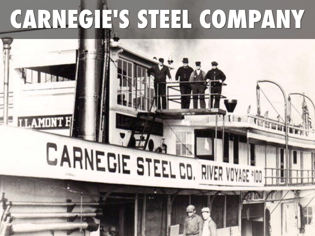 carnegies contribution to industrial business Andrew carnegie wrote later,  writing a private note to himself with instructions to quit business within two years,  the key problem of the industrial era,.