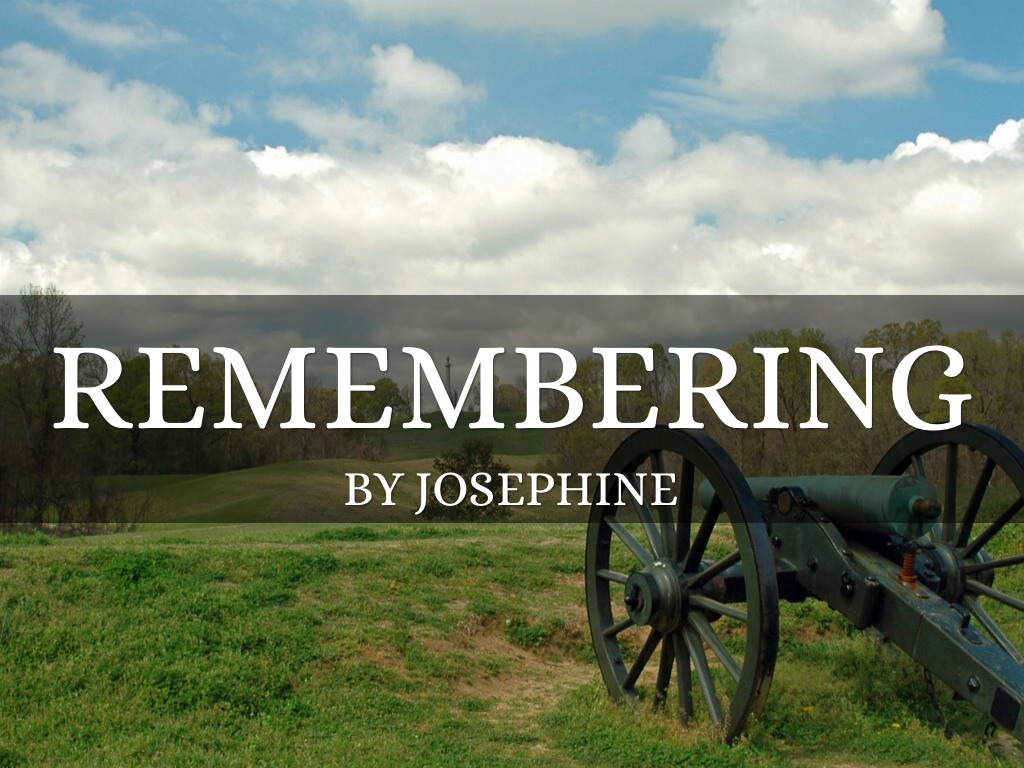 Remembering Poem