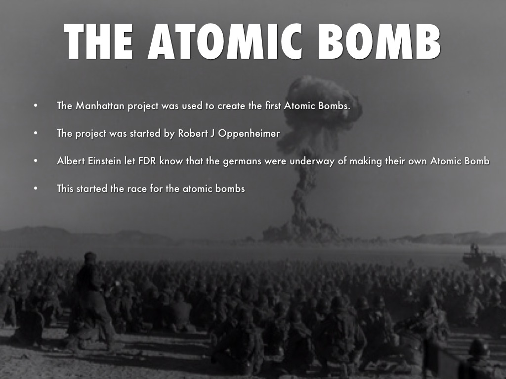manhattan project the building of the atom bomb
