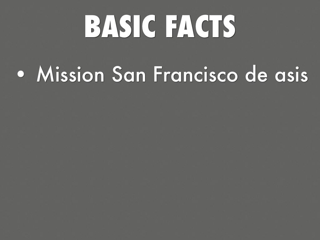 Mission San Francisco De ASIs by Angelina Alba