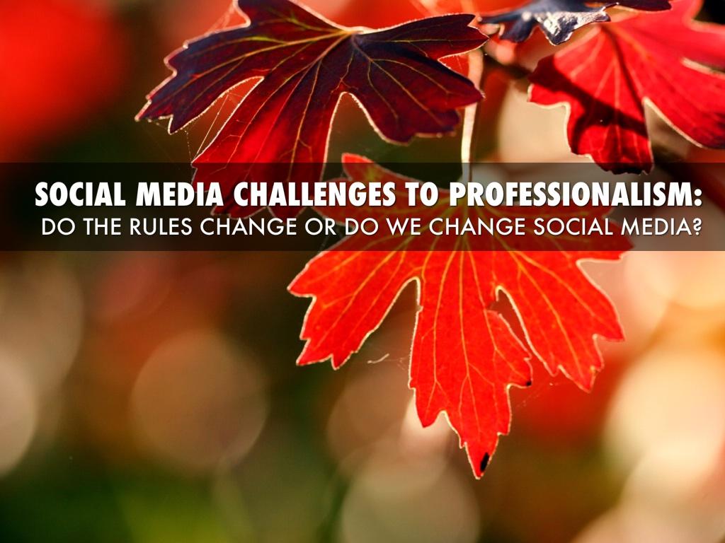 Social Media Professionalism For Nephrologists