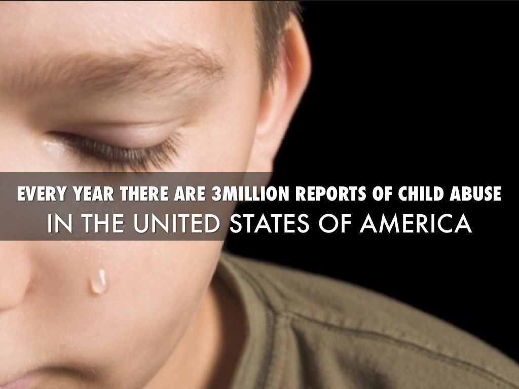 a report on the alarming case of child abuses in america Child prostitution is  that prostitution of children in north america often results  children was increasing at an alarming rate and that the.