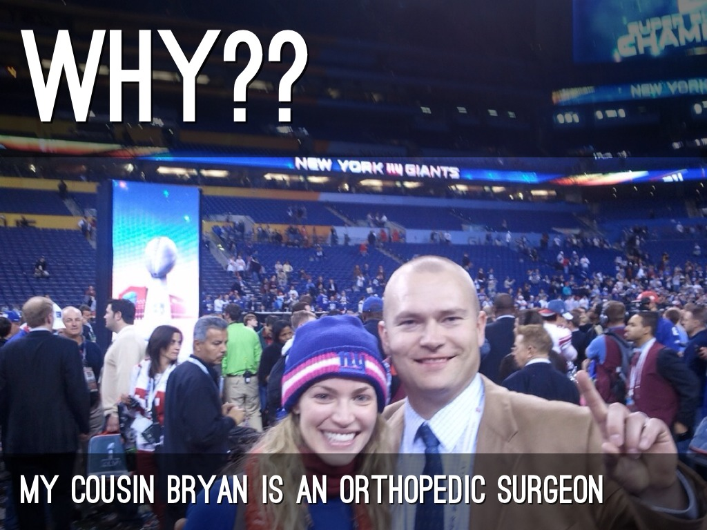 why my cousin bryan is an orthopedic surgeon orthopedic surgeon description