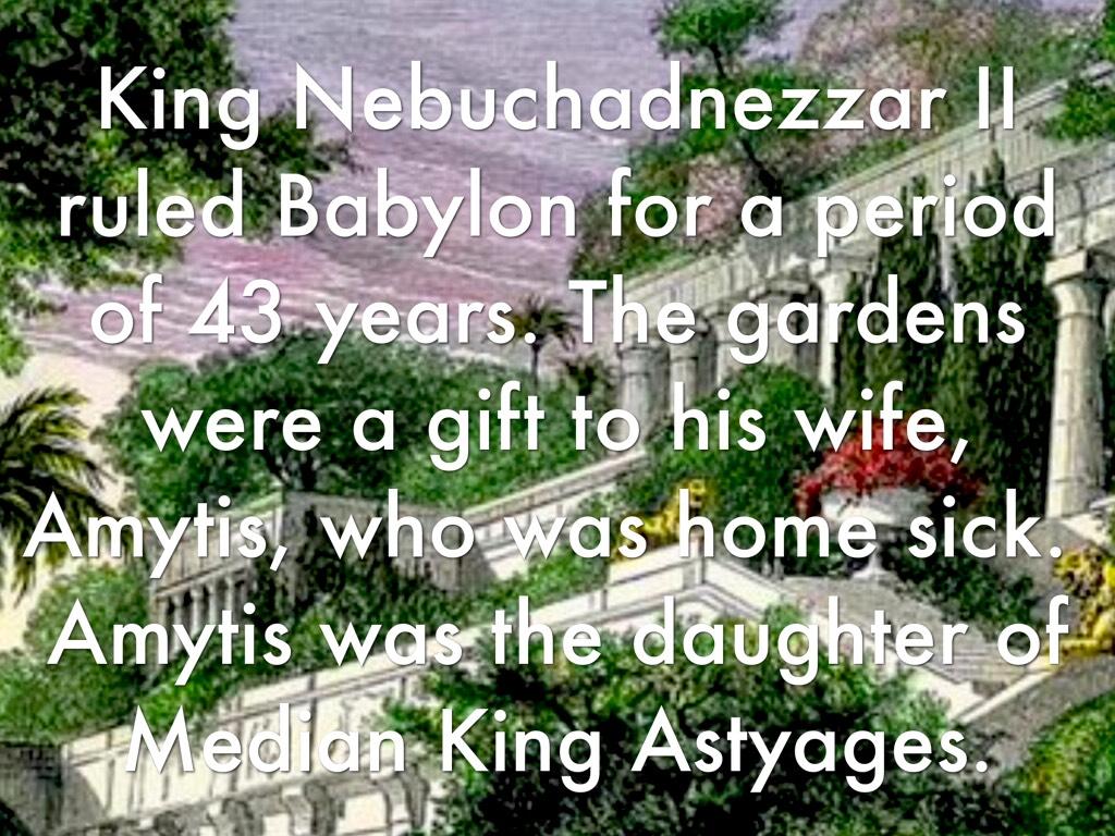 Hanging Gardens Of Babylon By Kenna Lee
