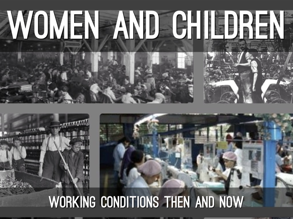 working conditions industrial revolution The domestic system only needed two to three people working in their own home  at the time when the industrial revolution was at its height,.