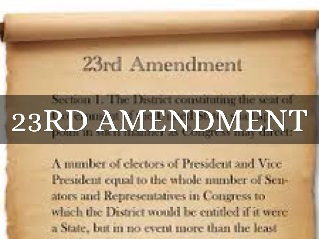 23rd Amendment Definition | www.pixshark.com - Images ...