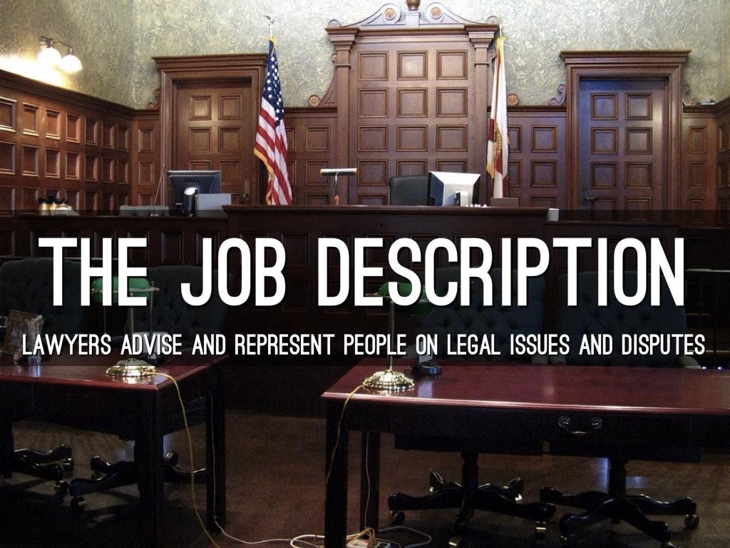 Lawyer by Trevor Sessions – Lawyer Job Description