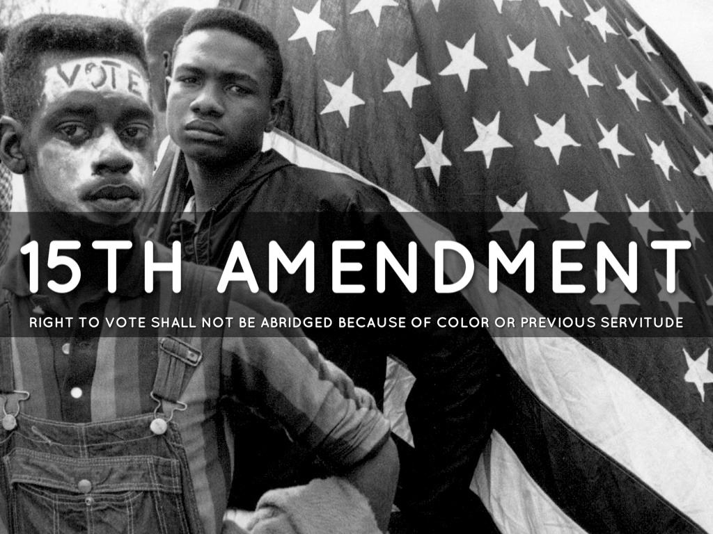 terms and limitations of the 14th and 15th amendments 15th amendment to the constitution: primary documents of american history (virtual services and programs, digital reference section, library of congress).