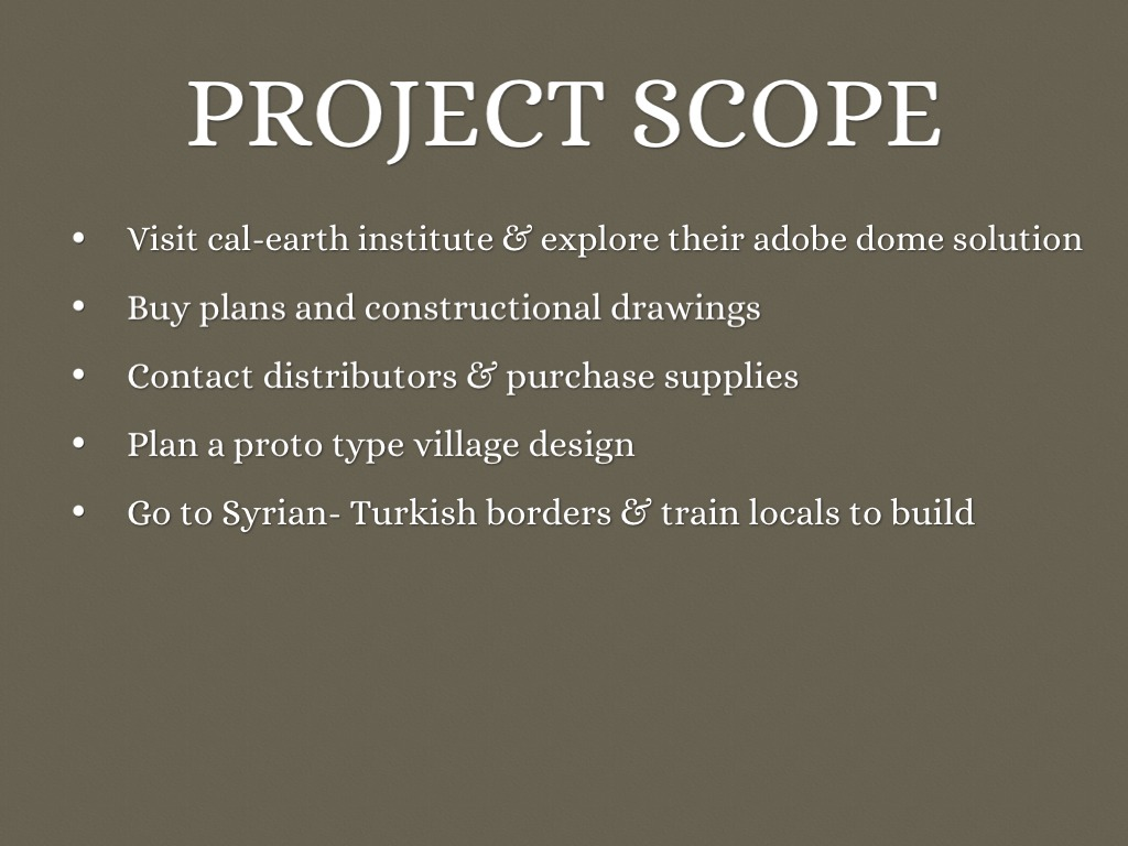 Project Scope - Management Glossary Definition