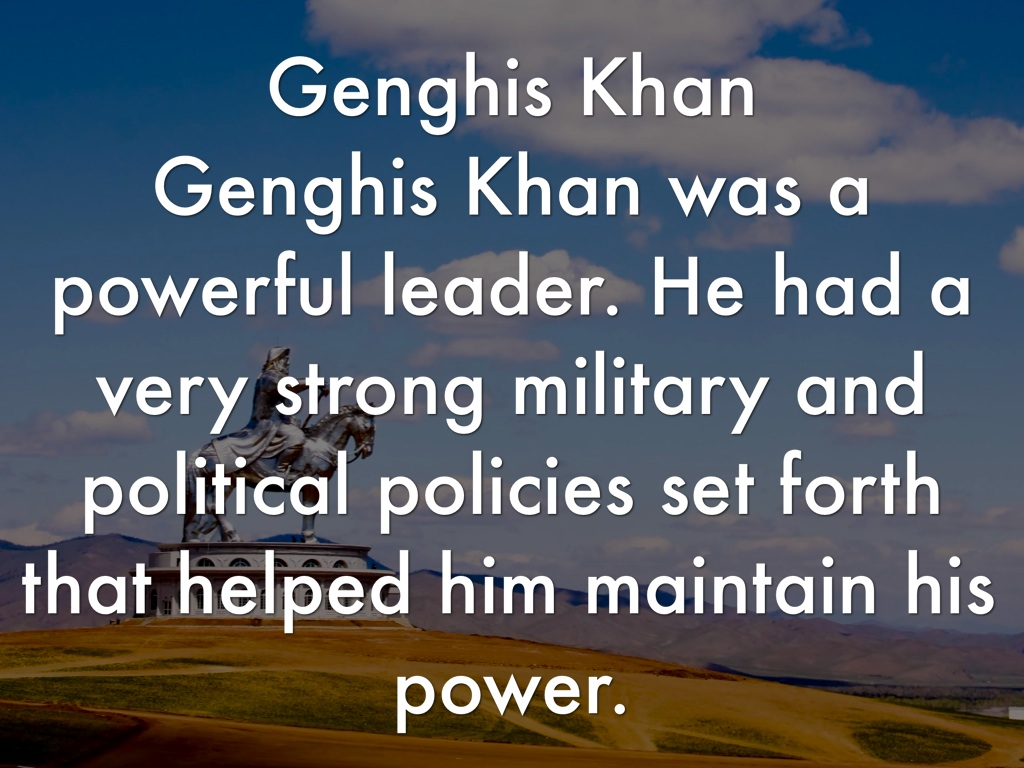 genghis khan were his actions justifiable essay Genghis khan and the making of the modern bias in favor of genghis khan and his accomplishments i think now that genghis khan was more justifiable than.
