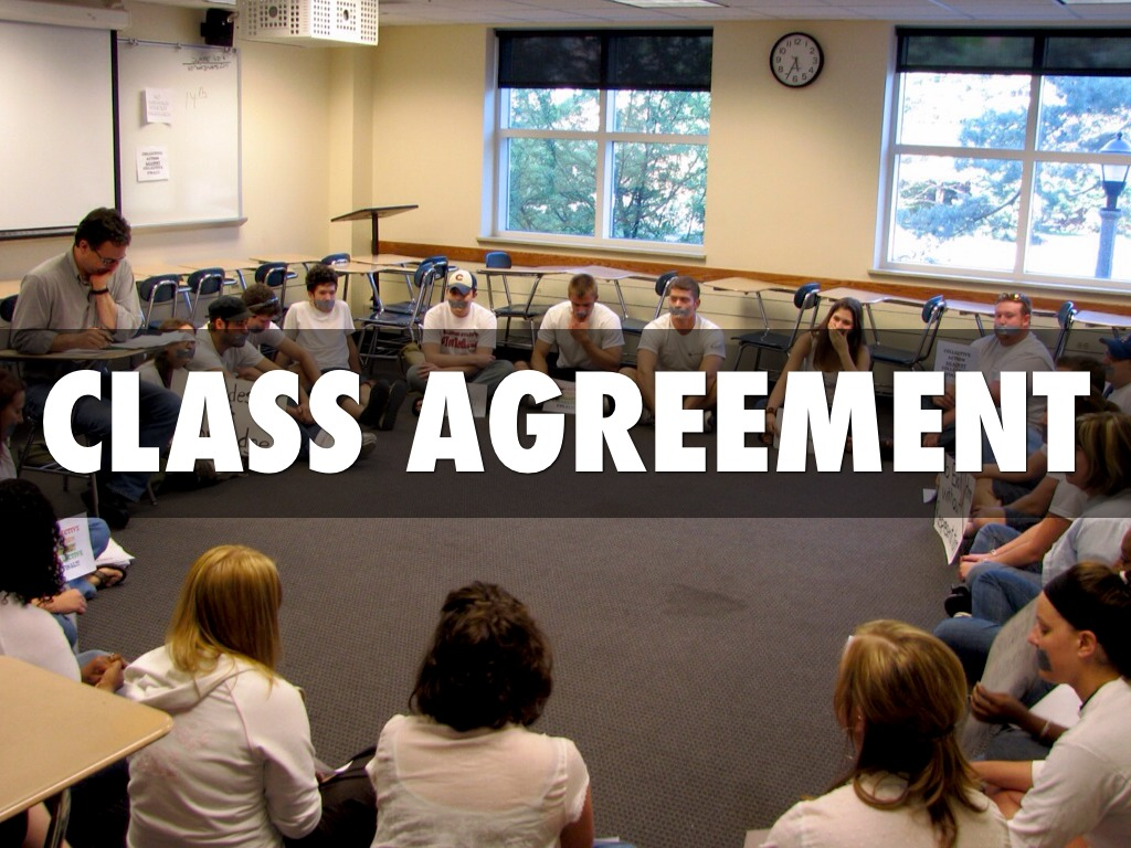 Class Agreement By Stephen Baker