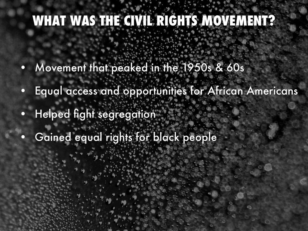 segregation and the civil rights movement essay