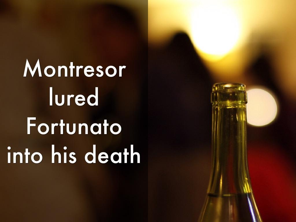 montresor kills fortunato by