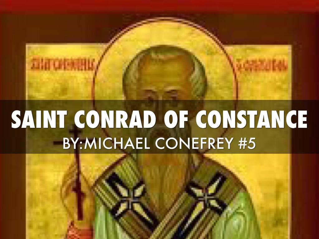 St. Conrad Constance