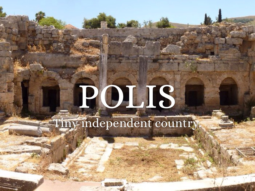 the greek polis Still, there was a silver lining, as the contraction of the greek culture caused settlements to be isolated in a way that set the stage for the polis to evolve it was the beginning of a slow and steady process that produced the greek enlightenment.