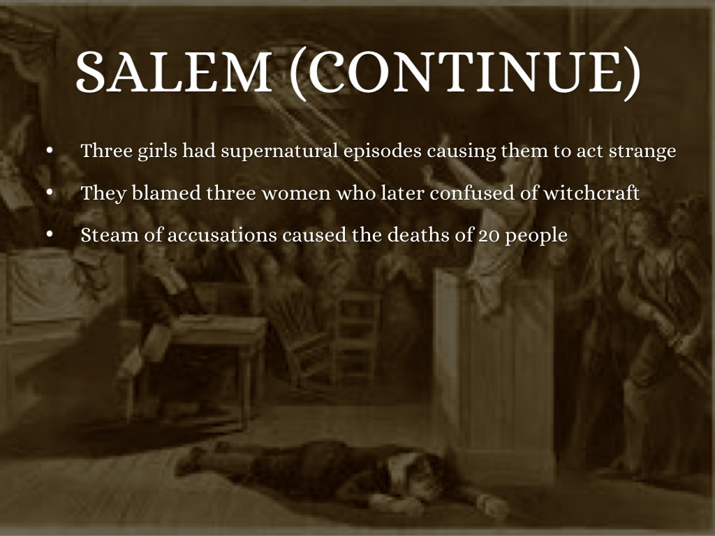 salem witch trials crucible essays