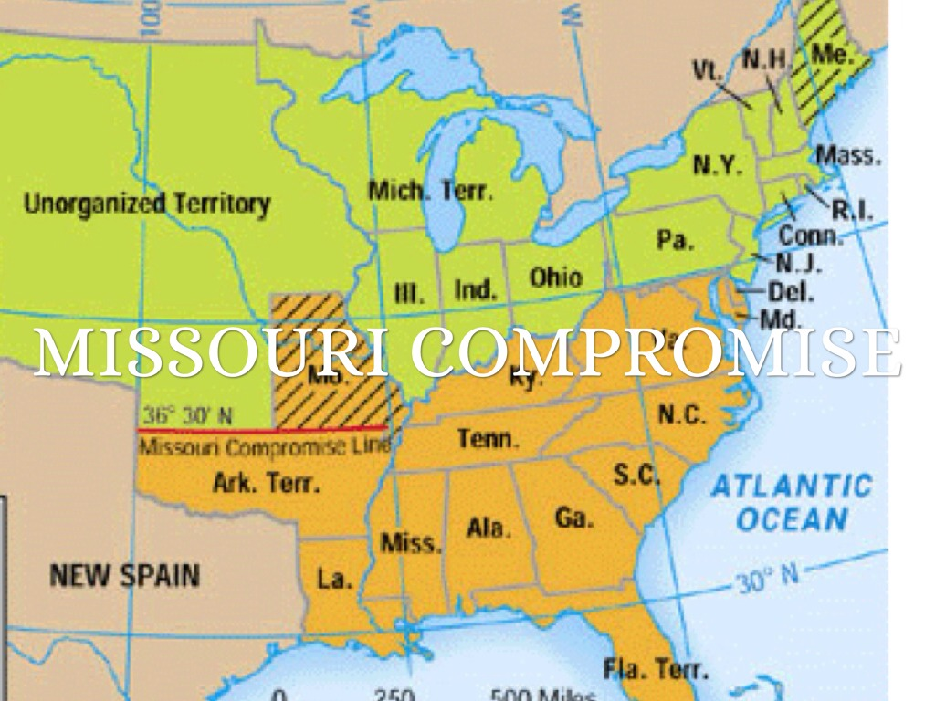 the missouri compromise The missouri compromise the missouri compromise, written by henry clay, attempted to limit the slavery boundaries it was later declared unconstitutional and is also considered one of many events that led to the american civil war.