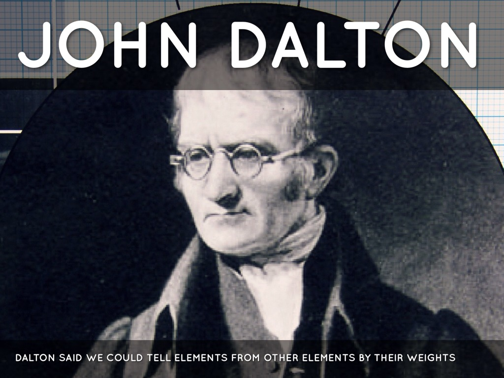 a biography of the english teacher and scientist john dalton The township of dalton was a municipality located in the northwest corner of the former victoria county , now the city of kawartha lakes , in the canadian province of ontario it was named after dr john dalton (1766–1844), an english scientist who contributed to the foundations of atomic theory.