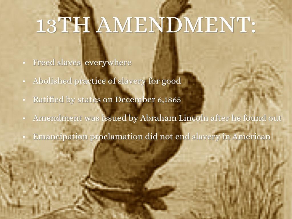 Reconstruction Amendments by Jeremy John