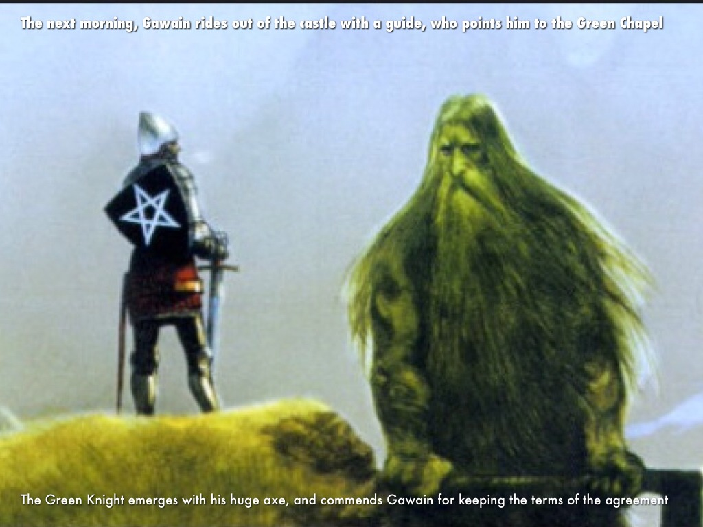 sir gawin and the green knight