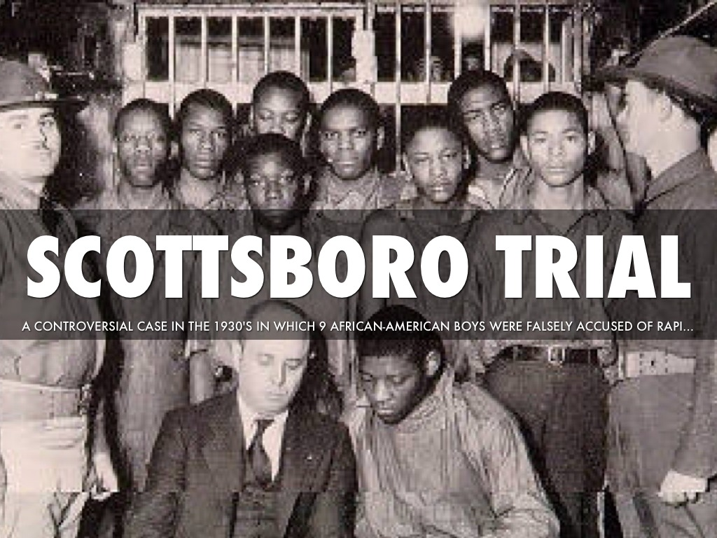scottsboro boys relation to to kill The scottsboro boys' trial took place during the childhood of to kill a mockingbird's author, harper lee make a prediction about how this trial might be an important.