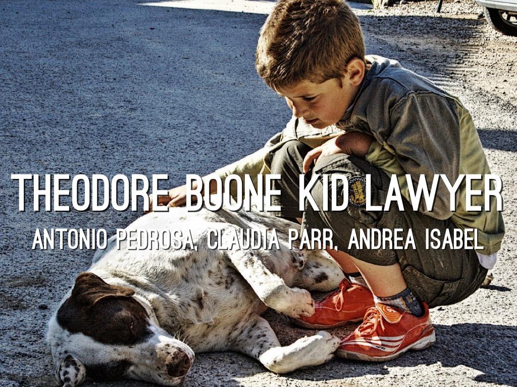 Theo Boone Kid Lawyer By Antonio Pedrosa