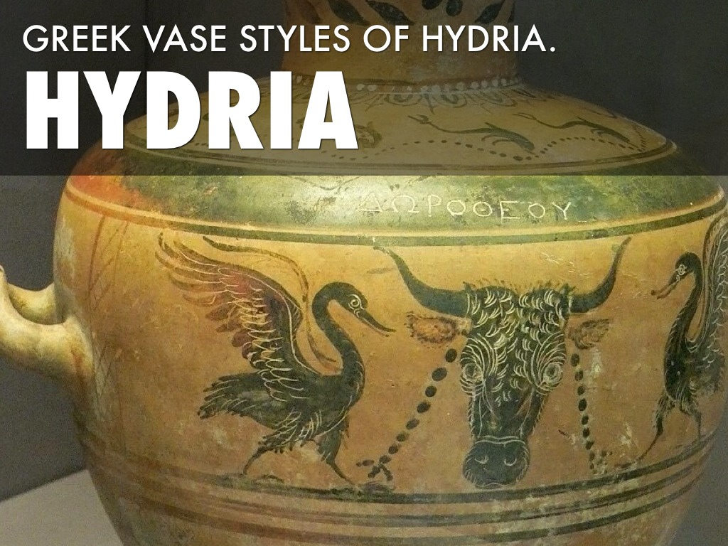 Hydria Vases