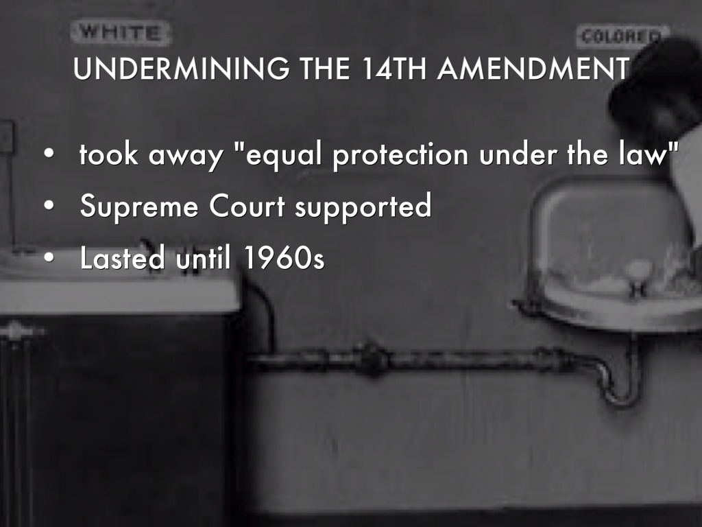 14th amendment equal protection under the The supreme court of the united states has ruled that marriage equality is legal in all 50 states under the fourteenth amendment the 5-4 ruling came early friday morning just before many pride.