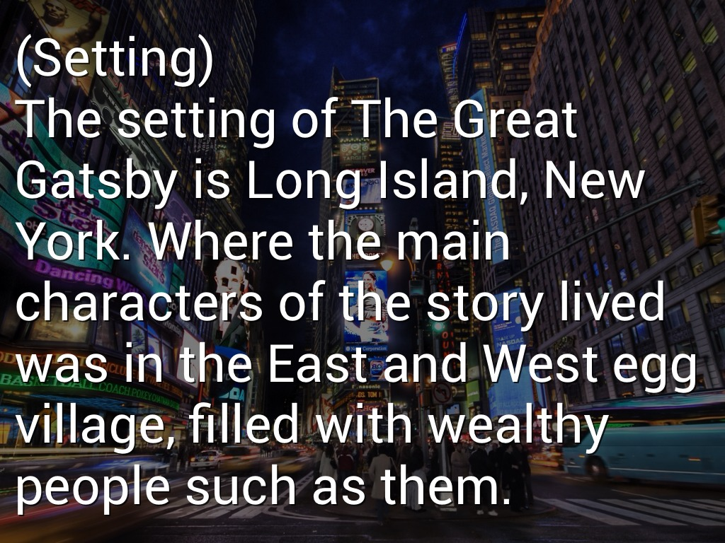 The Great Gatsby- The Great Dream