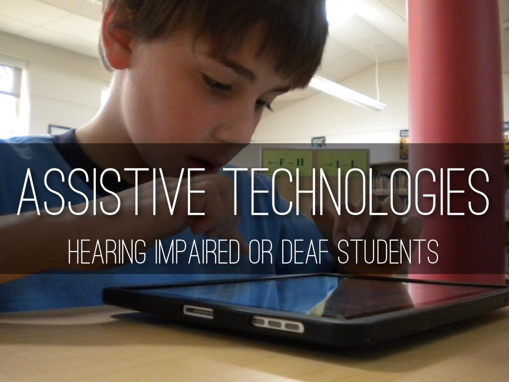 Assistive Technologies By Gabby Giovenco