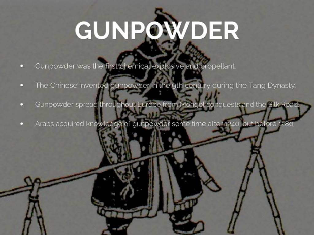 The Spread O Printing And Gunpowder by Kyle Bachmeier
