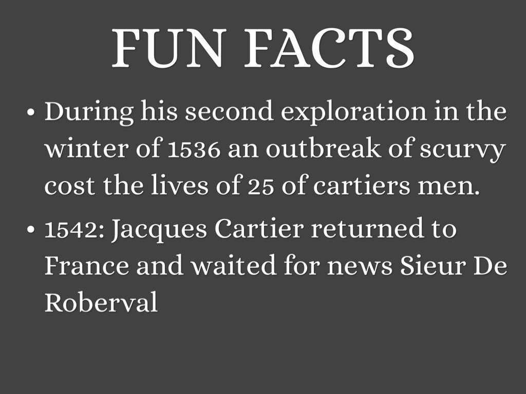 jacques cartier facts