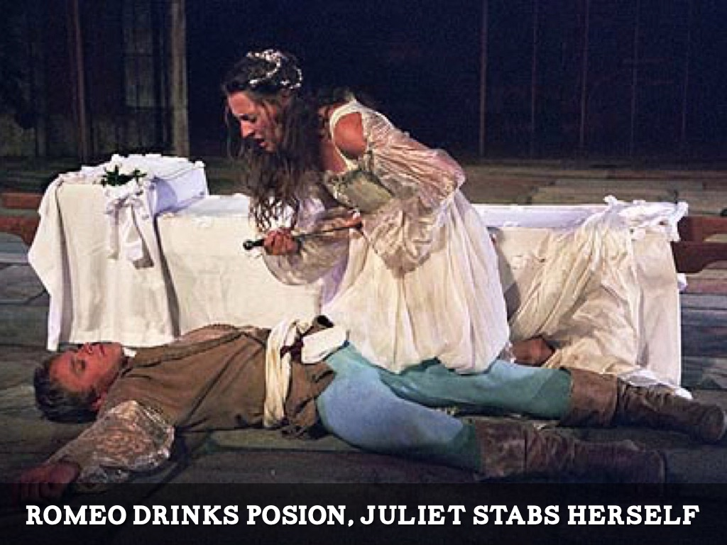 the deaths of romeo and juliet The theme of death in shakespeare's romeo and juliet often times, authors use the theme of death throughout their works this seems to be true of william shakespeare in romeo and juliet throughout his play, shakespeare uses death to move his story along.