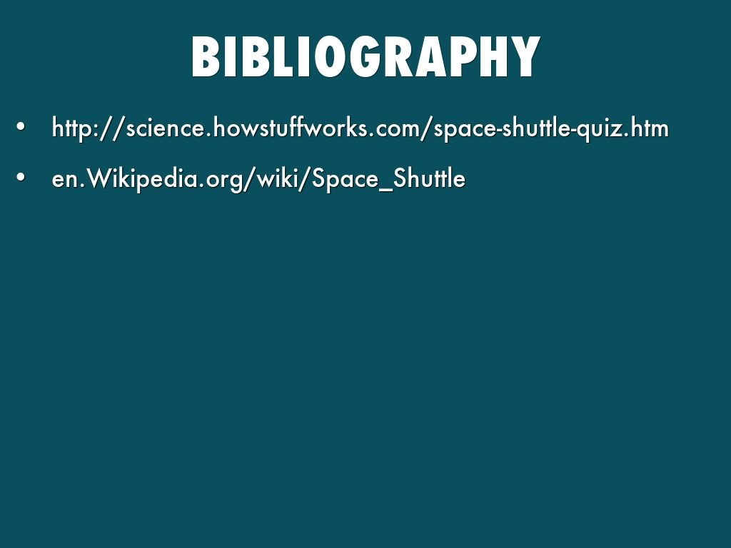 science space shuttle by mansi shelat