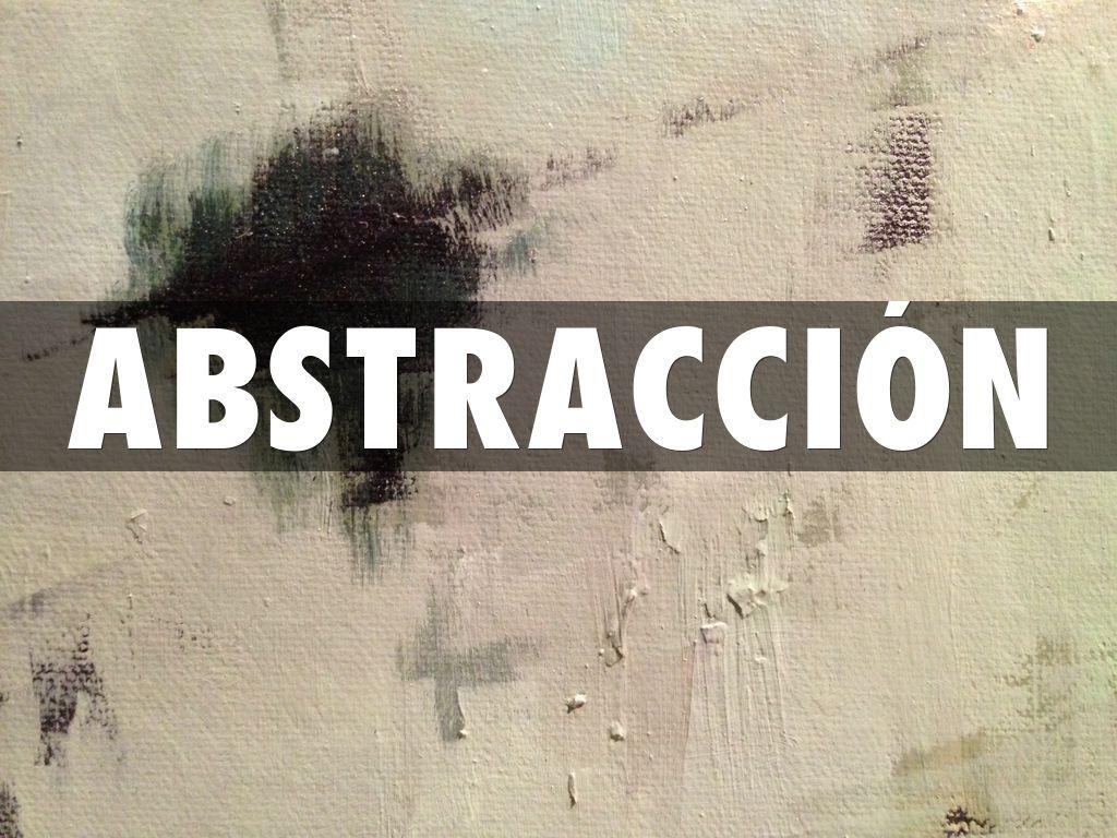 abstracci u00d3n by mauricio zarate prof  seminario de