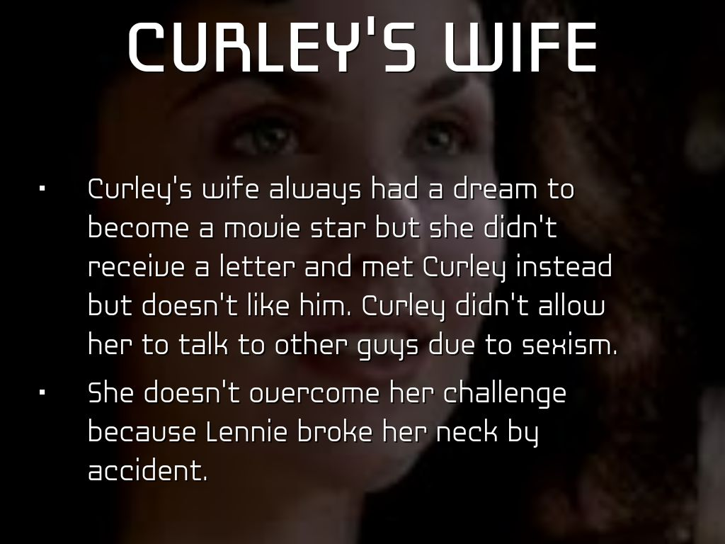 curley s wife vulnerability