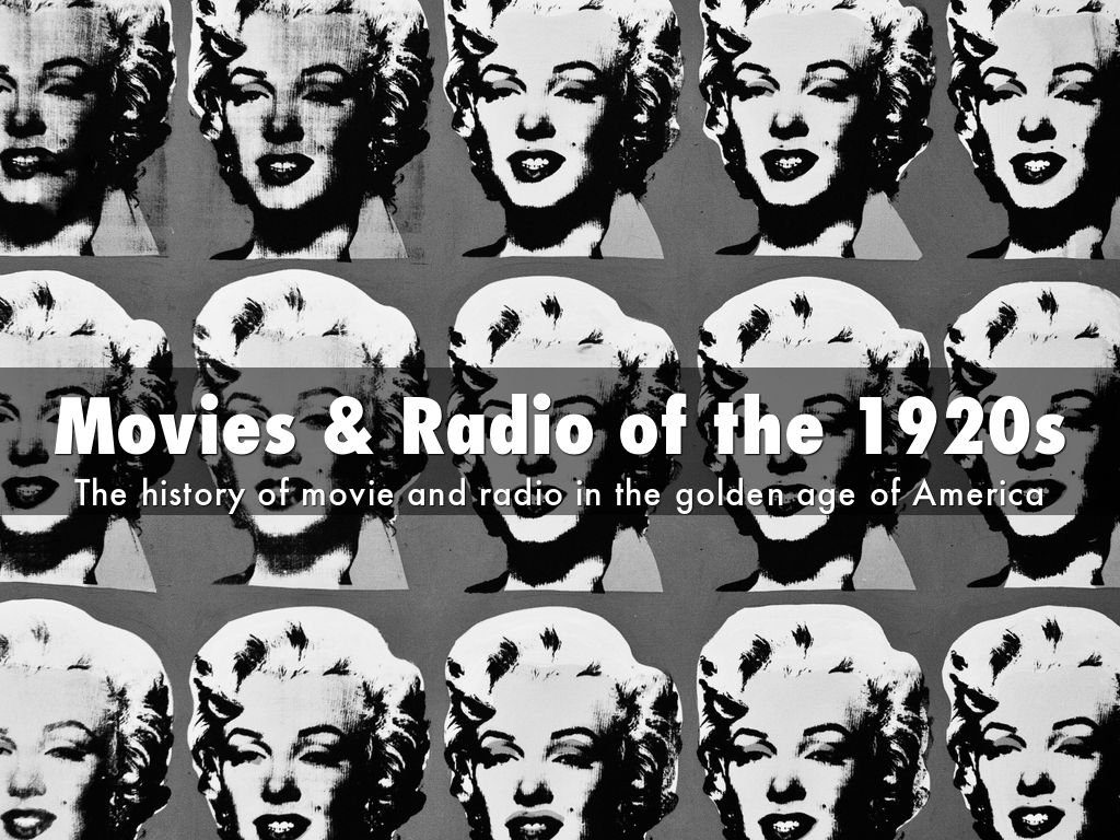 the history of radios and radio broadcasting since the 1920s Marconi may not have been visionary enough to found the radio broadcasting radio industry in the united states history-of-the-radio-industry-in-the-united.