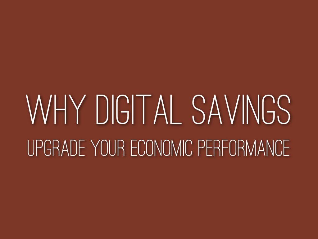Why digital savings