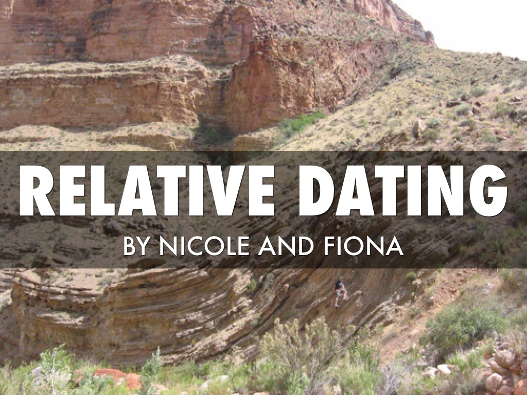 Unconformities relative dating
