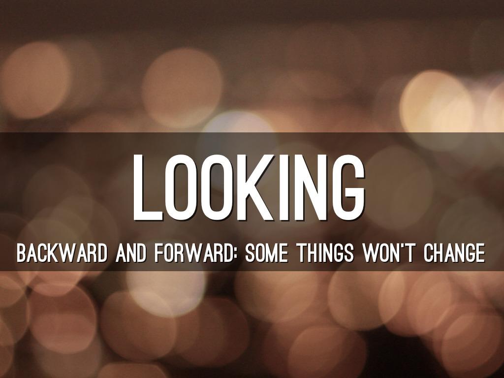looking backward and freedom