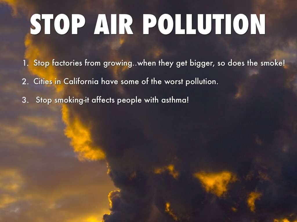 air pollution and how to reduce Every time we drive to school, use our heater or air conditioner, clean our windows, or even style our hair, we make choices that affect air pollution.