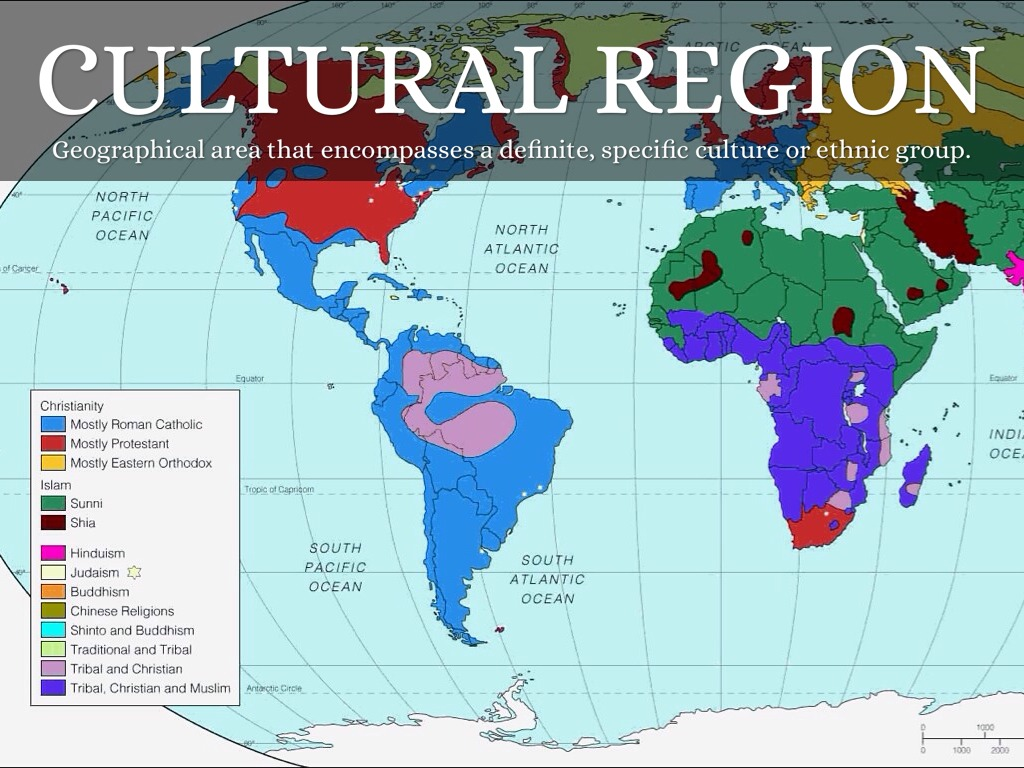 the distinct cultures of the south and north of america